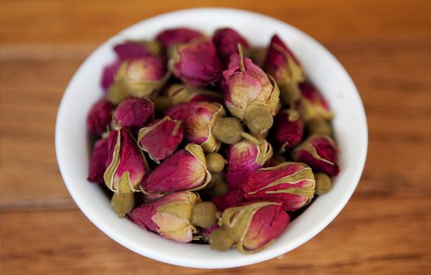 Chinese Herbal Medicine Roses